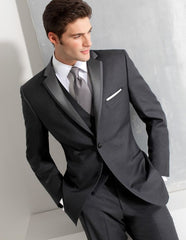 Beautiful men wedding suit cheap one and dark blue