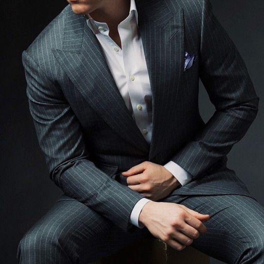 Best Grey Pinstripe Suit