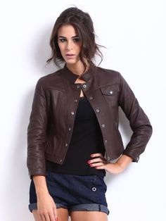 Best New Autumn Woman leather jacket