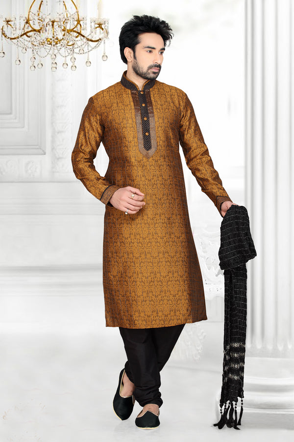 Best Sherwani In Gold Colour