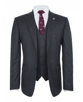 Best pinstripe suit for men