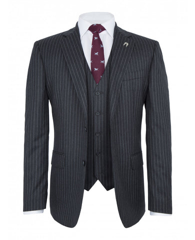 Best one pinstripe suit for men