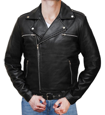 Special Black Leather Jacket