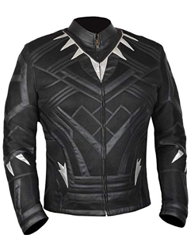 Black Panther Leather Jacket
