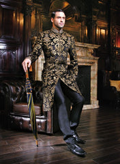 Black Sherwani For Wedding