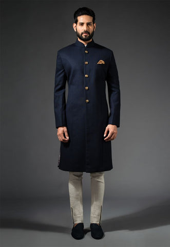 Latest Cool Black Sherwanis For Men
