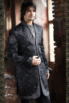 Black-one Indian Sherwani