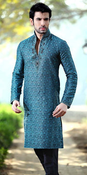 Blue Indian Sherwani For Men
