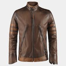 Brown Italian Leather Jacket