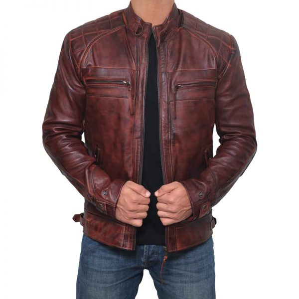 Brown Leather Jacket Film Leather Jacket