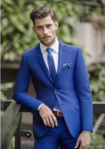 Classy and Cool Blue Suit for Men