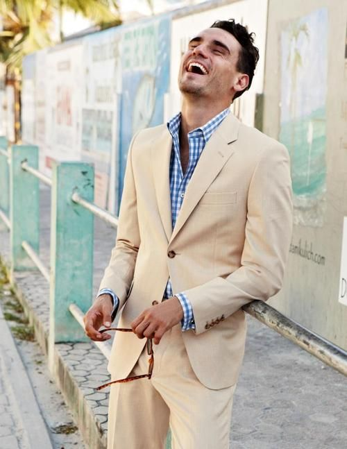 Comfortable summer suit