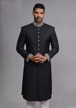 Cool Black Sherwani