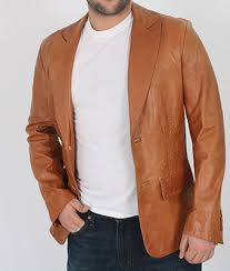 Cool Italian Leather Jacket for men