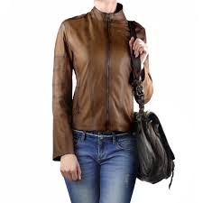 Cool Italian Leather Jacket for women