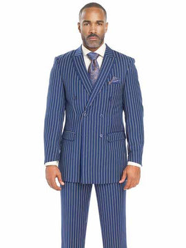 Cool  pinstripe suit for men