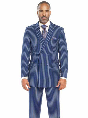 Amazing Cool  pinstripe suit for men