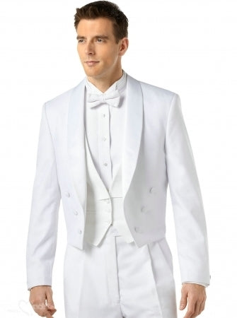 Cool white suit