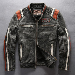 Custom Leather Jacket Embroidery