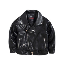 Cute Leather Jacket For Kids