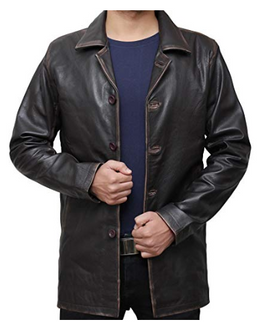Dean Winchester Brown Distressed Jacket