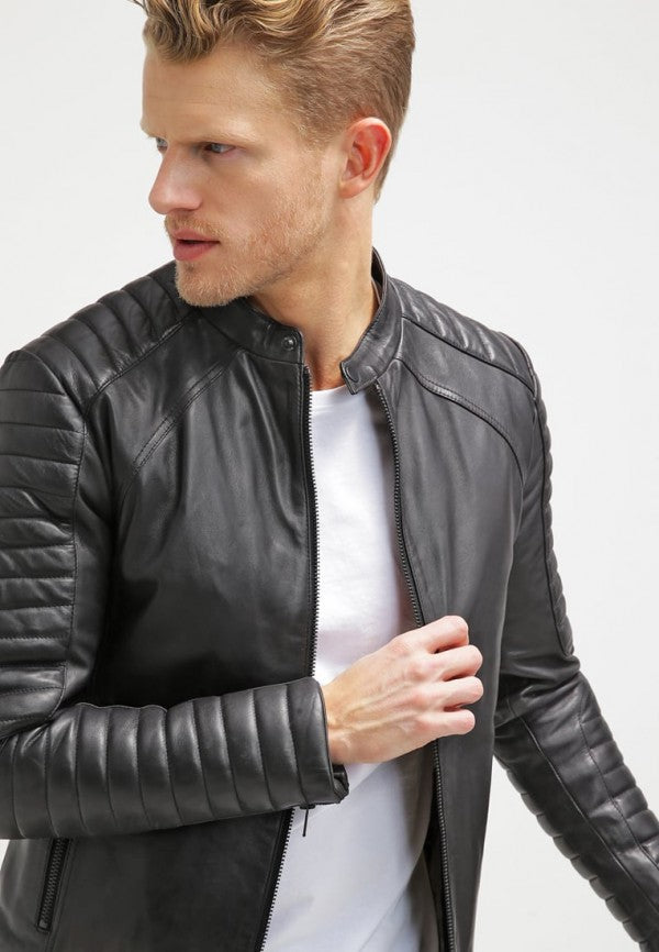 Elegant Leather Jacket for men