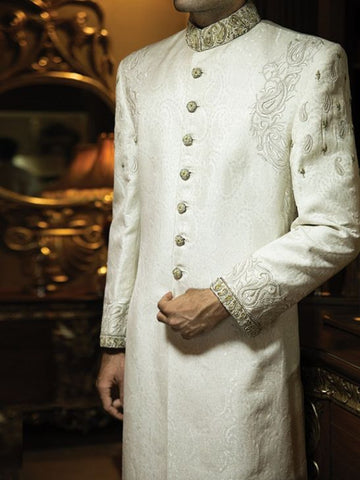 Affordable Embroidered Pakistani Sherwani