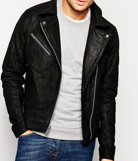 Fashion Men Leather Jacket