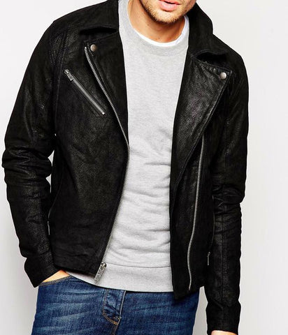 Trendy and Fashion Men Leather Jacket