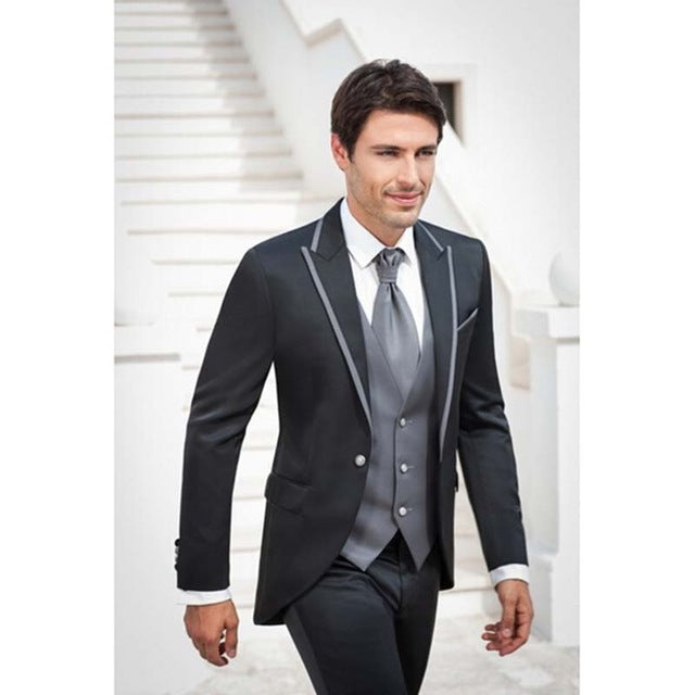 Wedding Attire For Men.Fashion Men Wedding Suits