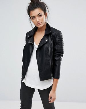 New Fashionable Leather Jacket for Women