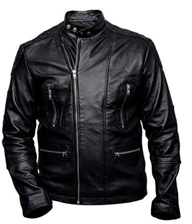 Fifty Shades Freed Sawyer Leather Jacket