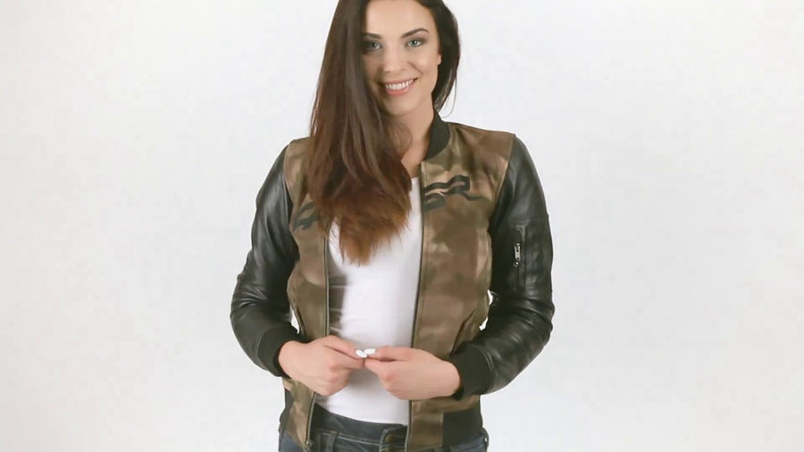 Gorgeous Women Motorcycle Jacket