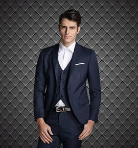 Handsome European Style wedding suits for men