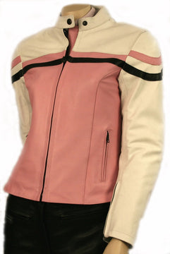 Ladies Leather Motorbike Jackets - 2018