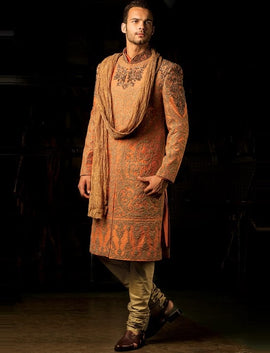 Latest design of Indian Sherwani