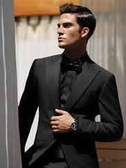 Lovely black suit for men