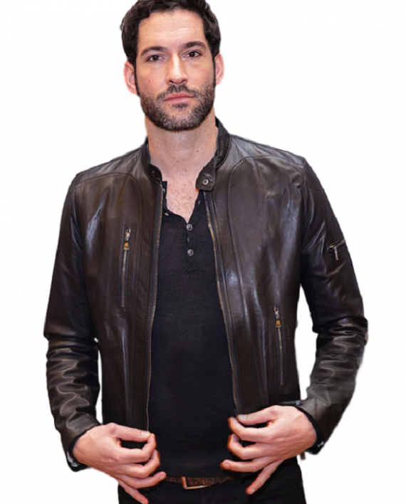 Lucifer Morningstar Leather Jacket