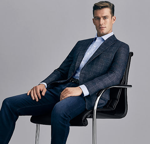 Luxury menswear and suits for business