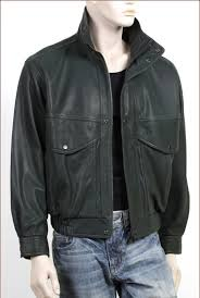 Men Classic Italian Leather Jacket