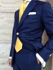 Navy Blue Formal Suit for Men