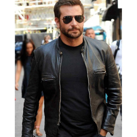Perfect design of leather jacket