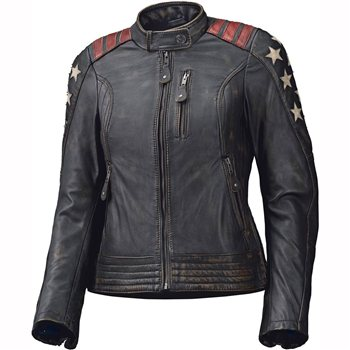 New leather motorcycle jacket