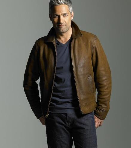 Nice Italian Leather Jacket for men