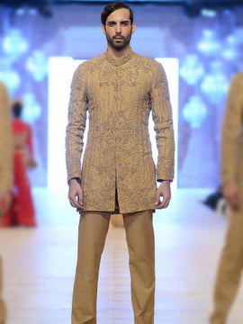 Pakistani Wedding Short Sherwani