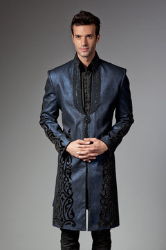 Pakistani Sherwani new  velvet design
