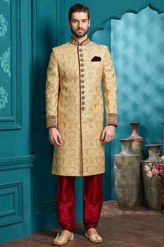Smart Wedding Sherwani for Men