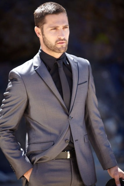 Silver Grey Formal Suit