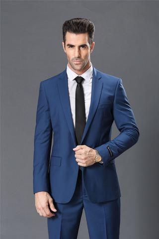 Suitable Sky Blue Suit for Men