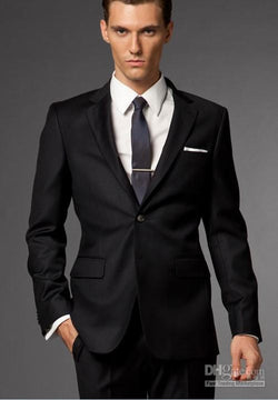 Smart Formal Black suit for men